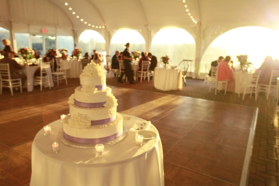 Curry Event Services- Cake at Fruitlands Museum
