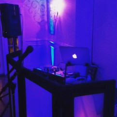 Dark Booth Set up