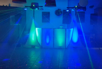 Dance Floor Lighting Blue