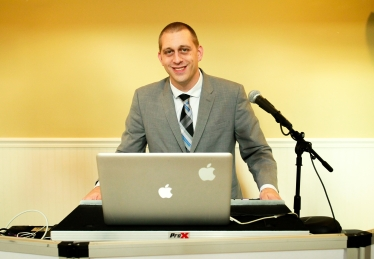 DJ Blake Curry of Curry Event Services